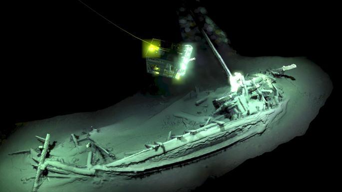 най-древния неповреден кораб